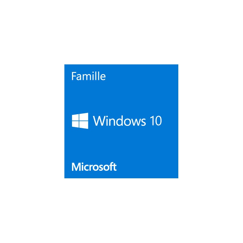 microsoft windows 10 famille 64 bits oem infodirect. Black Bedroom Furniture Sets. Home Design Ideas