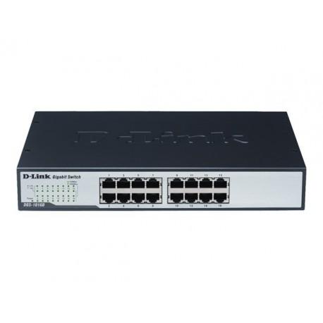 D-Link Switch 16 ports 10/100Mbps Rackable