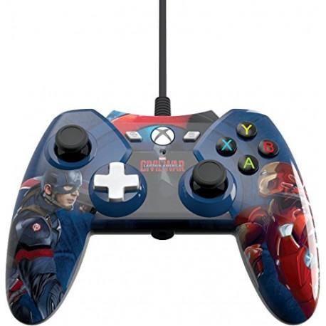 PowerA Manette filaire Captain America Civil War