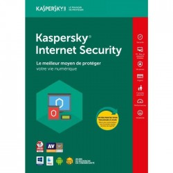 KASPERSKY Internet Security 2018 1 Poste / 1 An