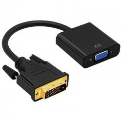 Adaptateur DVI-D vers VGA femelle