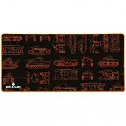 Tapis geant PC World of Tanks XXL