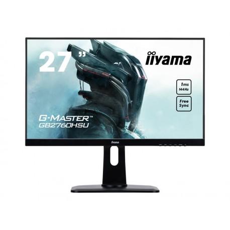 """IIYAMA 27"""" GB2760HSU-B1 HP/HDMI/DP/DVI Noir 1ms 144hz"""