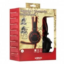 Casque Konix Ragnarok 7.1 avec Vibration Drakkar