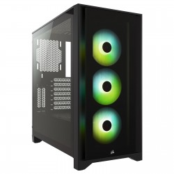 CORSAIR ICUE 4000X RGB TEMPERED GLASS - ATX