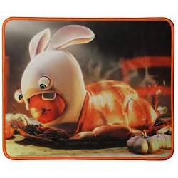Tapis de souris lapin crétin