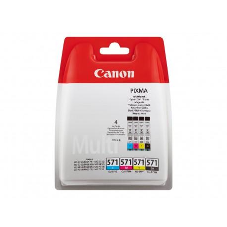 Cartouche Canon CLI-571BK XL / Noir