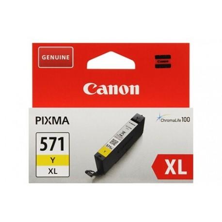 Cartouche Canon CLI-571Y XL / Yellow